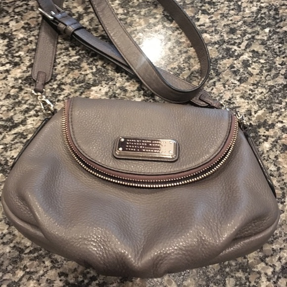 Marc By Marc Jacobs Handbags - Marc by Marc Jacobs Crossbody gray leather bag